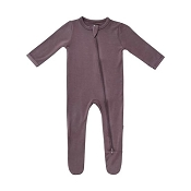 Kyte Baby Zippered Footie - Cocoa
