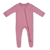 Kyte Baby Zippered Footie - Mulberry