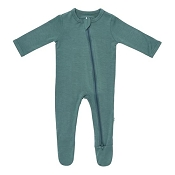 Kyte Baby Zippered Footie - Pine