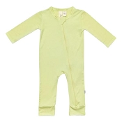 Kyte Baby Zippered Romper - Kiwi