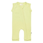 Kyte Baby Zipper Sleeveless Romper - Kiwi