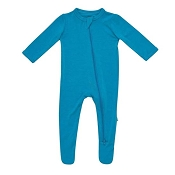 Kyte Baby Zippered Footie - Lagoon
