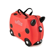*Trunki Ride-on Suitcase - Ladybug