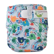 Sweet Pea BAMBOO Newborn All-in-One Cloth Diaper