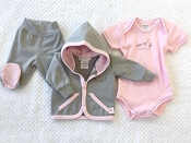Itty Bitty Baby Newborn Pink Layette - Going to the Zoo