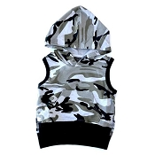 Little Bipsy Collection Sleeveless Hoodie - Camo