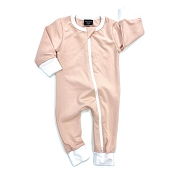 Little Bipsy Collection 2-Way Zip Romper - Blush