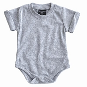 Little Bipsy Collection Basic Onesie - Grey
