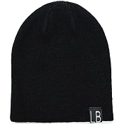 Little Bipsy Collection Knit Beanie - Black