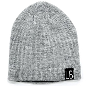 Little Bipsy Collection Knit Beanie - Grey