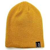 Little Bipsy Collection Knit Beanie - Mustard