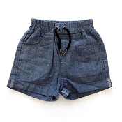 Little Bipsy Collection Denim Shorts - Dark Wash