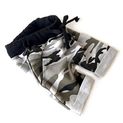 Little Bipsy Collection Rolled Harem Shorts - Camo