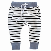 Little Bipsy Collection Joggers - Ash Blue Stripe *CLEARANCE*
