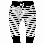 Little Bipsy Collection Joggers - Black Stripe