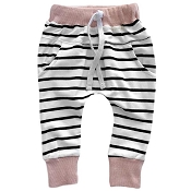 Little Bipsy Collection Joggers - Blush Stripe
