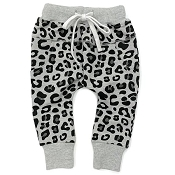 Little Bipsy Collection Joggers - Grey Leopard
