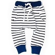 Little Bipsy Collection Joggers - Navy Stripe
