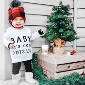Little Bipsy Knit Sweater - Baby It's Cold Outside