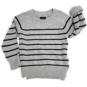 Little Bipsy Collection Knit Sweater - Grey