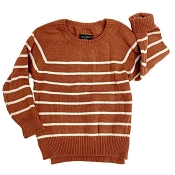 Little Bipsy Collection Knit Sweater - Rust