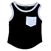 Little Bipsy Collection Pocket Tank - Black