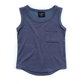 Little Bipsy Pocket Tank Top - Navy