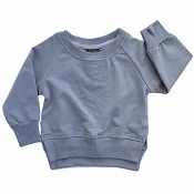 Little Bipsy Collection Pullover - Ash Blue *CLEARANCE*
