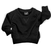 Little Bipsy Collection Pullover - Black