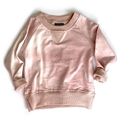 Little Bipsy Pullover - Blush Tie Dye