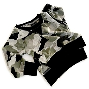 Little Bipsy Collection High Low Pullover - Camo