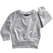 Little Bipsy Collection Pullover - Grey