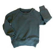 Little Bipsy Pullover - Midnight Teal