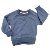 Little Bipsy Pullover - Ocean Blue