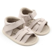 Little Bipsy Sandals / Della / White *CLEARANCE*