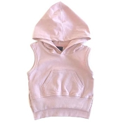 Little Bipsy Collection Sleeveless Hoodie - Blush (0-3 Months)