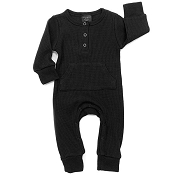 Little Bipsy Collection Thermal Romper - Black