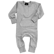 Little Bipsy Collection Thermal Romper - Grey *CLEARANCE*