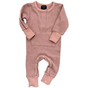 Little Bipsy Thermal Romper - Mauve