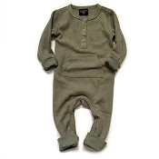 Little Bipsy Thermal Romper - Pine