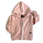 Little Bipsy Zip Hoodie - Blush *CLEARANCE*