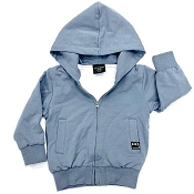 Little Bipsy Collection Zip Hoodie - Ash Blue *CLEARANCE*