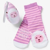 Little Blue House Kids Socks in Egg - Counting Sheep (Size 4-7)