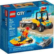 *LEGO City Beach Rescue ATV