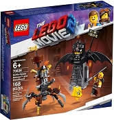 *LEGO Battle-Ready Batman and MetalBeard