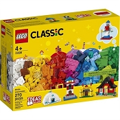 *LEGO Classic Bricks and Houses