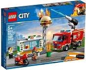 *LEGO City Burger Bar Fire Rescue