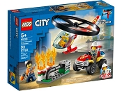 *LEGO City Fire Helicopter Response