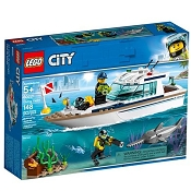 *LEGO City Diving Yacht