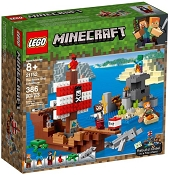 *LEGO Minecraft The Pirate Ship Adventure